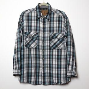 Field & Stream | Plaid Madras Button Up Flannel XL